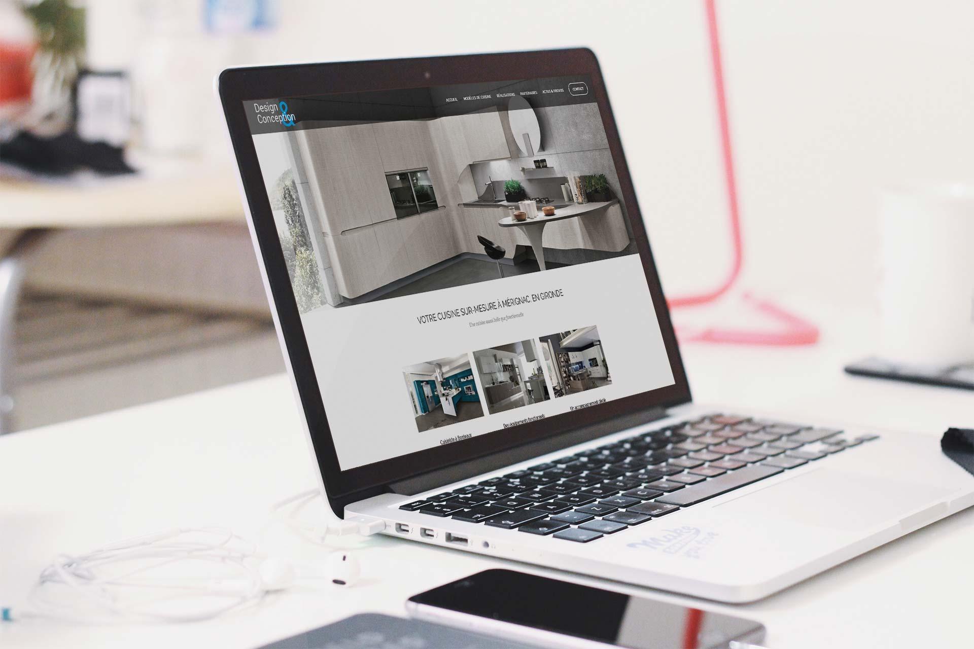 site internet par l'agence MWD