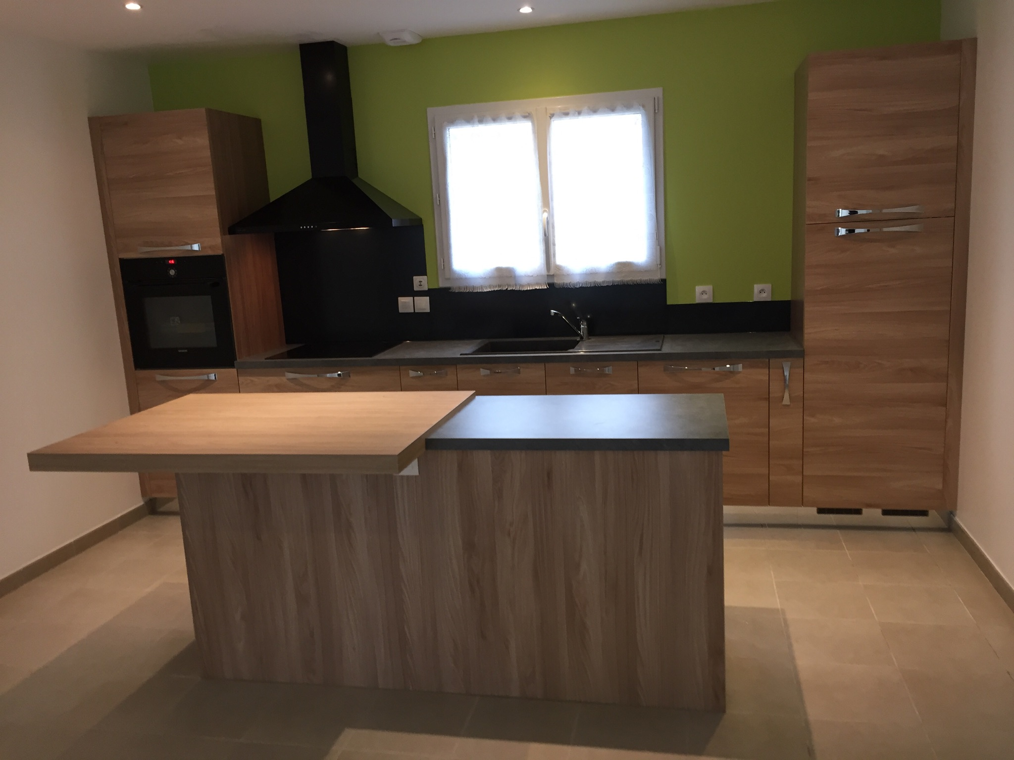 cuisine effet bois design amp conception